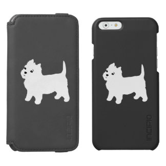 Cute Westie - West Highland White Terrier iPhone 6/6s Wallet Case