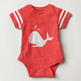 Cute Whale 4Carrie Baby Bodysuit