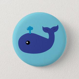 Cute Whale Button