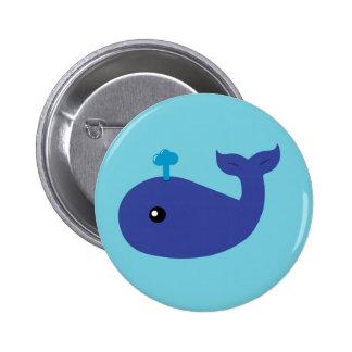 Cute Whale Pin