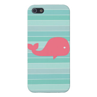 Cute Whale Case For iPhone SE/5/5s