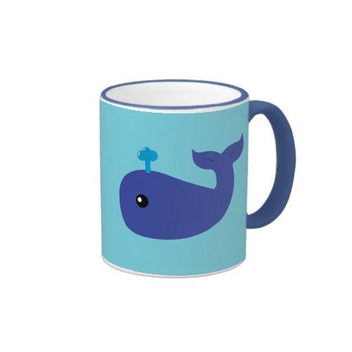 Cute Whale Coffee Mugs Zazzle