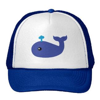 Cute Whale Trucker Hat