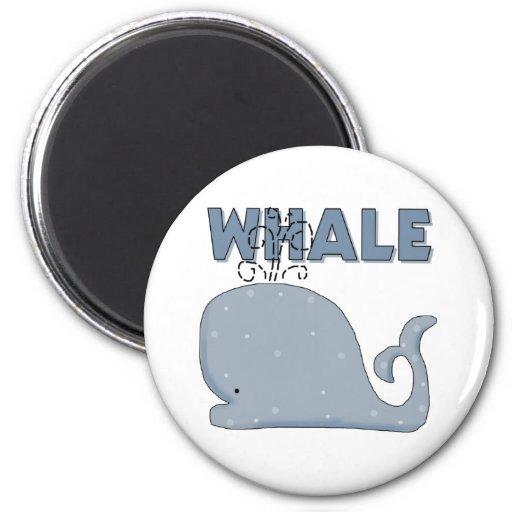 Cute Whale Magnet