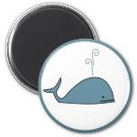 Cute Whale Refrigerator Magnet