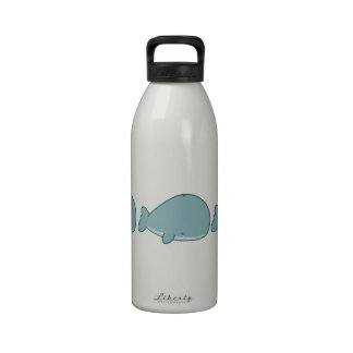 Cute Whale Reusable Water Bottle