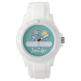 Cute Whale Wristwatch