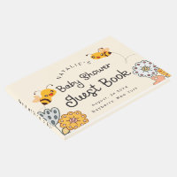 Cute What will it Bee Gender Reveal Baby Shower Guest Book