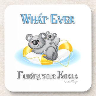 CUTE Whatever Floats your Koala Coaster