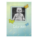 cute whimsical butterflies  Photo Gift Greeting Personalized Invite