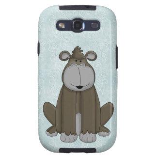 Cute Whimsical Gorilla Galaxy SIII Covers