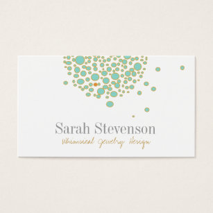 Jewelry business cards templates zazzle cute whimsical jewelry designer business card colourmoves Image collections