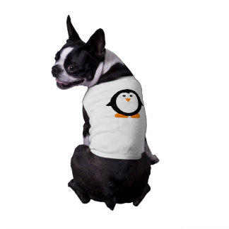 Cute Whimsical Penguin Shirt for Dogs Pet Tee