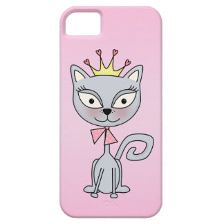 Cute Whimsical Princess Kitty Cat iPhone SE/5/5s Case