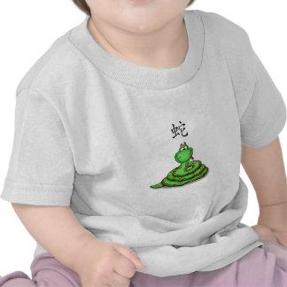 Cute whimsical Snake Tee Shirt
