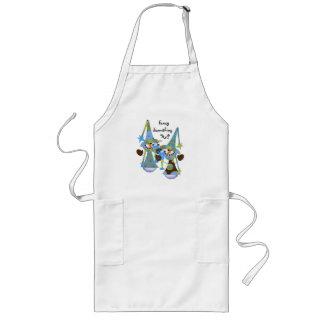 Cute Whimsical Snowman Apron