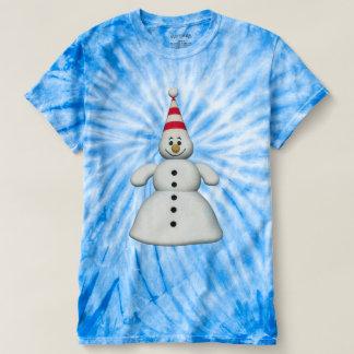 Cute Whimsical Snowman T-shirt