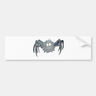 Cute Whimsical Spider Add Your Text or Name Bumper Sticker