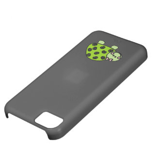 Cute Whimsical Turtle Lady iPhone 5C Cover
