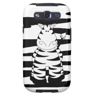 Cute Whimsical Zebra Galaxy SIII Cover