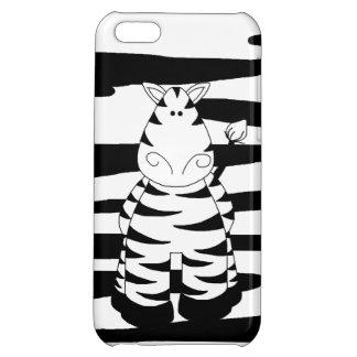 Cute Whimsical Zebra iPhone 5C Case