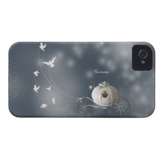 Cute, Whimsy Cinderella Story iPhone 4 Case