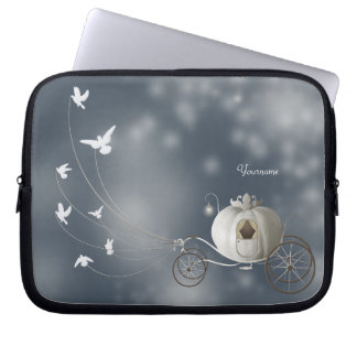 Cute, Whimsy Cinderella Story Laptop Sleeve