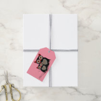 Cute Whimsy Mother Baby Owls Gift Tags