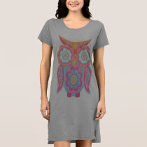 Cute whimsy owl dress