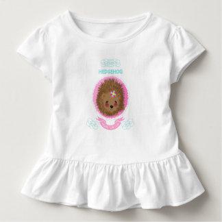 Cute Whimsy Woodland Animal Hedgehog Design Toddler T-shirt