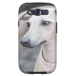 Cute Whippet Samsung Galaxy SIII Covers