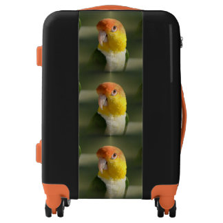 Cute White Bellied Caique Parrot Luggage