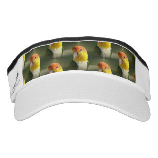 Cute White Bellied Caique Parrot Headsweats Visors