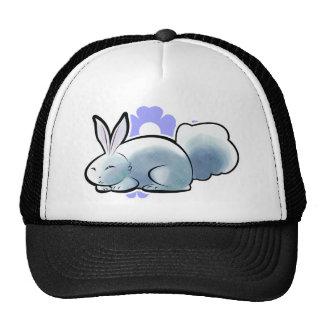 Cute White Bunny Trucker Hat