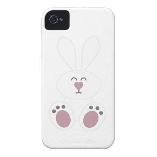 Cute White Bunny Rabbit iPhone 4 Cases