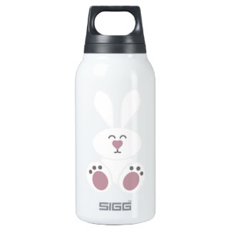 Cute White Bunny Rabbit SIGG Thermo 0.3L Insulated Bottle