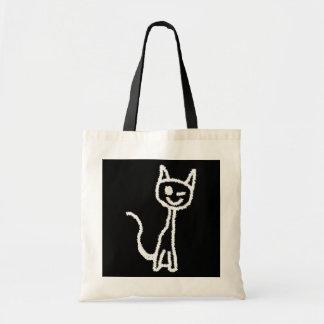 Cute White Cat. Tote Bag
