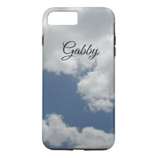 Cute White Clouds Photo Design Personalized iPhone 8 Plus/7 Plus Case