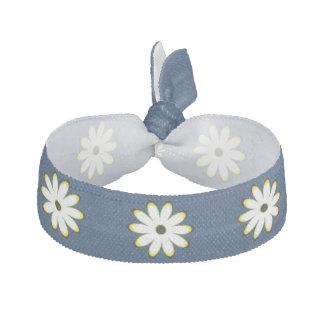 Cute White Daisy Pattern Hair Tie