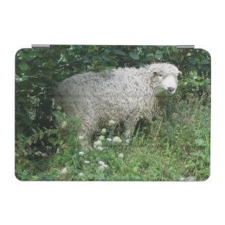 Cute White Fluffy Sheep Eating iPad Mini Cover