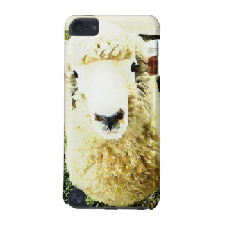Cute White Fluffy Sheep iPod Touch 5G Cover