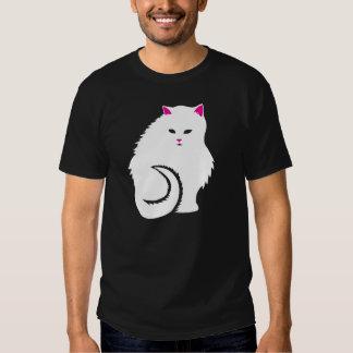 Cute White Kitty Cat T-shirt
