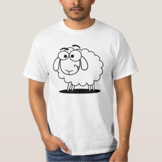 Cute white little cartoon sheep T-Shirt