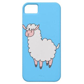 Cute White Llama iPhone 5 Cover