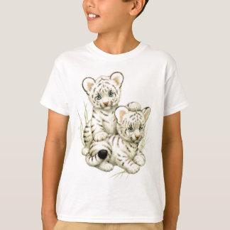 Cute White Tiger Cubs T-Shirt
