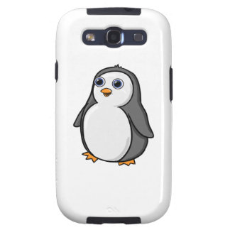 Cute Wide-Eyed Baby Penguin Galaxy SIII Cover