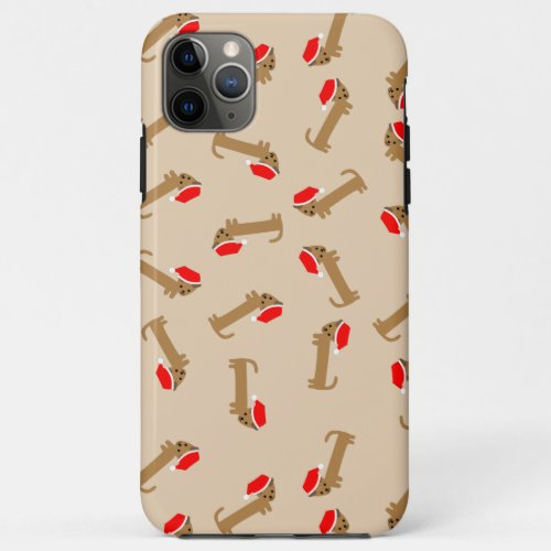 Cute Wiener Santa iPhone 11 Pro Max Case