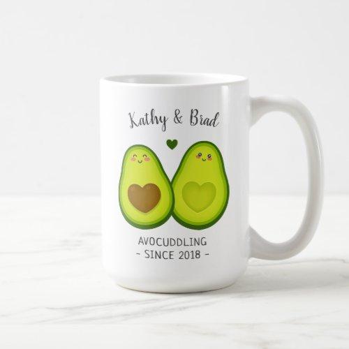 Cute Wife Husband Anniversary Gift Customized Name Coffee Mug