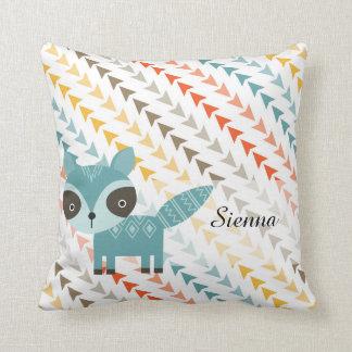 Cute Wilderness Animal Throw Pillow