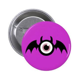 Cute Wingeye Monster Pinback Button